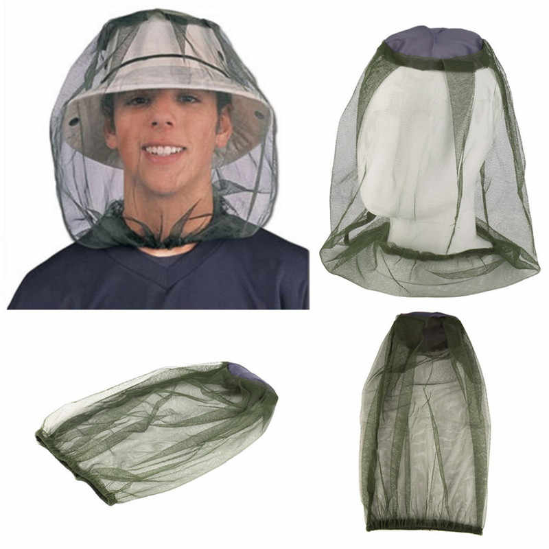 Summer Long Mosquito Net Hats Sunscreen Veil Anti Bee Cap Outdoors Fishing Camping Breathable Sun Protector Hat HOT SALE