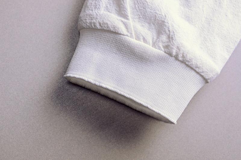 Printemps Automne Italie slim fit veste hommes lin blanc vêtements - Vêtements pour hommes - Photo 6