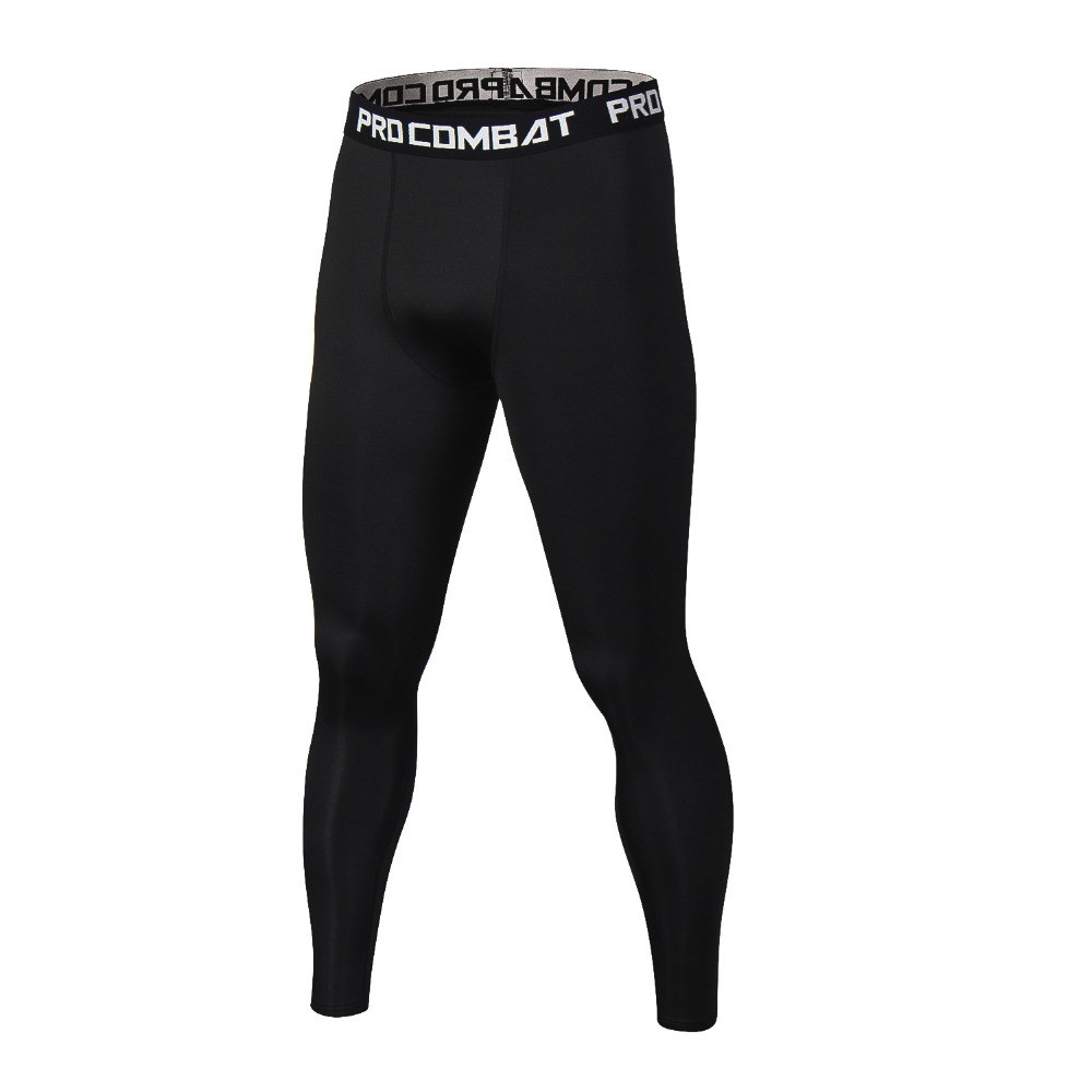 Fashion Compression Skinny Pants For Men Brand Bodybuilding Leggings Quickdry Casual Tight Pants Fitness Crossfit G ym Pants Men