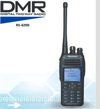 Professional digital two-way radio RS629D DMR walkie talkies transceiver UHF 1024 channel SMS function Remote Revive group call