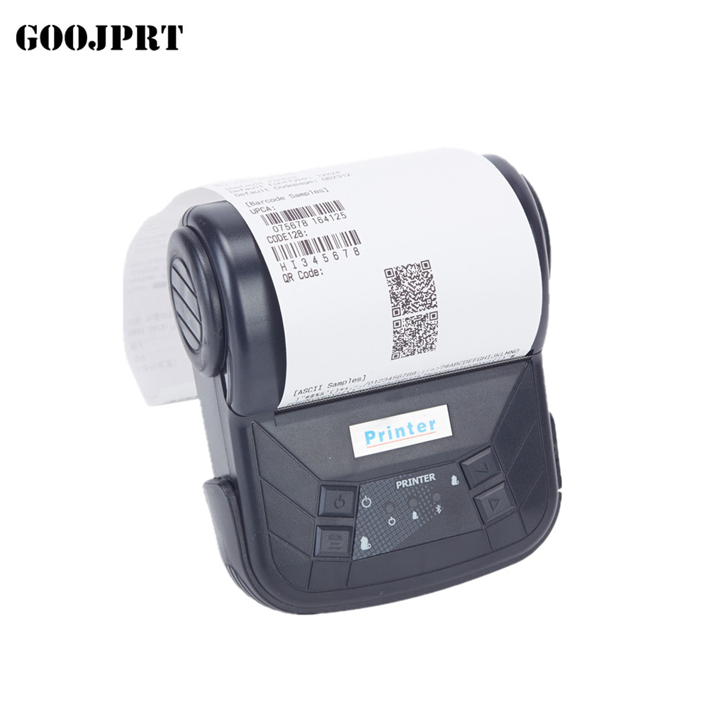 80mm bluetooth printer thermal printer thermal receipt printer bluetooth android mini 80mm thermal bluetooth printer mtp 3 small portable bluetooth thermal printer 80mm sticker printer ticket printer support andrews apple phone 1pc