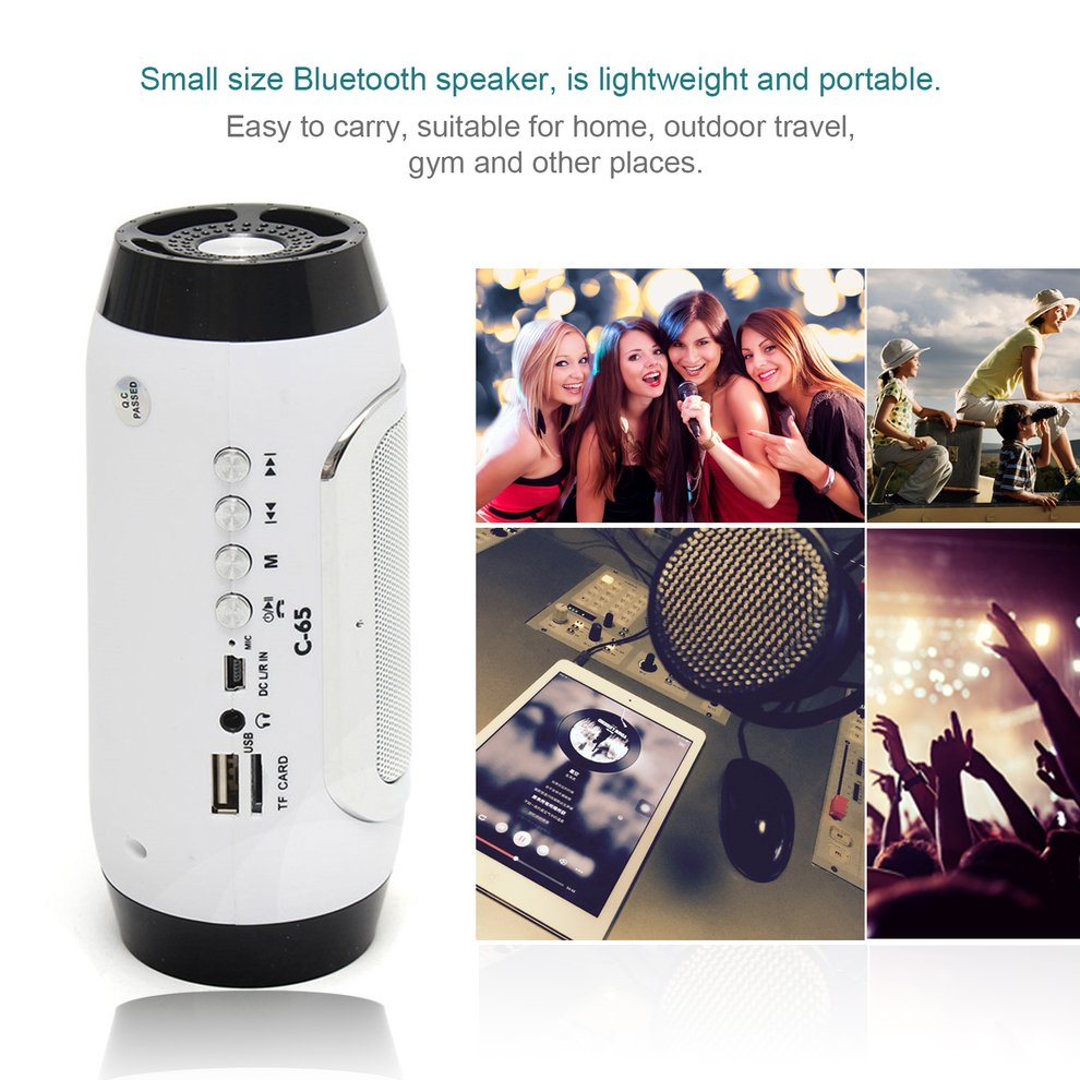 5PCS Portable Wireless Bluetooth Speaker Mini Stereo Speaker Bucket Shape MP3 FM For Smartphone Tablet PC Support TF Card кофейный набор naomi бирюза 100 мл 12 предметов ng g150306 c6 al