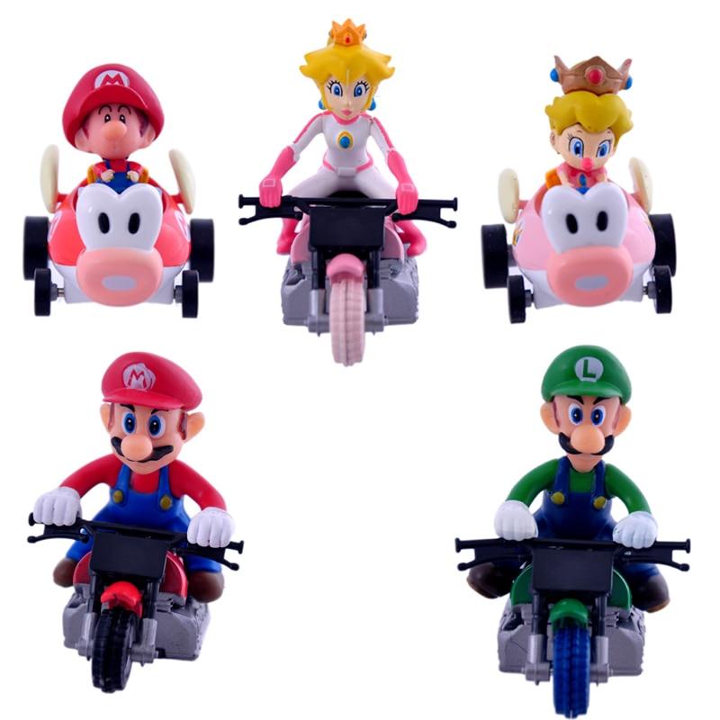 Super Mario Bros PVC Adventures custom Figures Model Mario Toys Gift For Kids