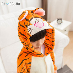 Image 4 - Kinderen Tijger Cosplay Kostuum Animal Cartoon Pyjama Jongen Meisje Carnaval Festival Party Onesie Kid Leuke Kigurumis Zachte Slaap Fancy