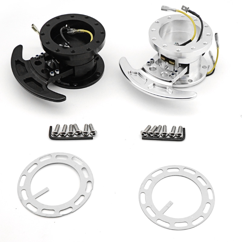 New High WORKS BELL Tilt Racing Steering Wheel Quick Release Hub Kit Adapter Body Removable Snap Off Boss Kit WK ST02