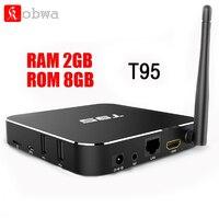 Amlogic S905 T95 Andorid 5 1 TV BOX QuadCore 2GB 8GB Dual WiFi KODI 16 0