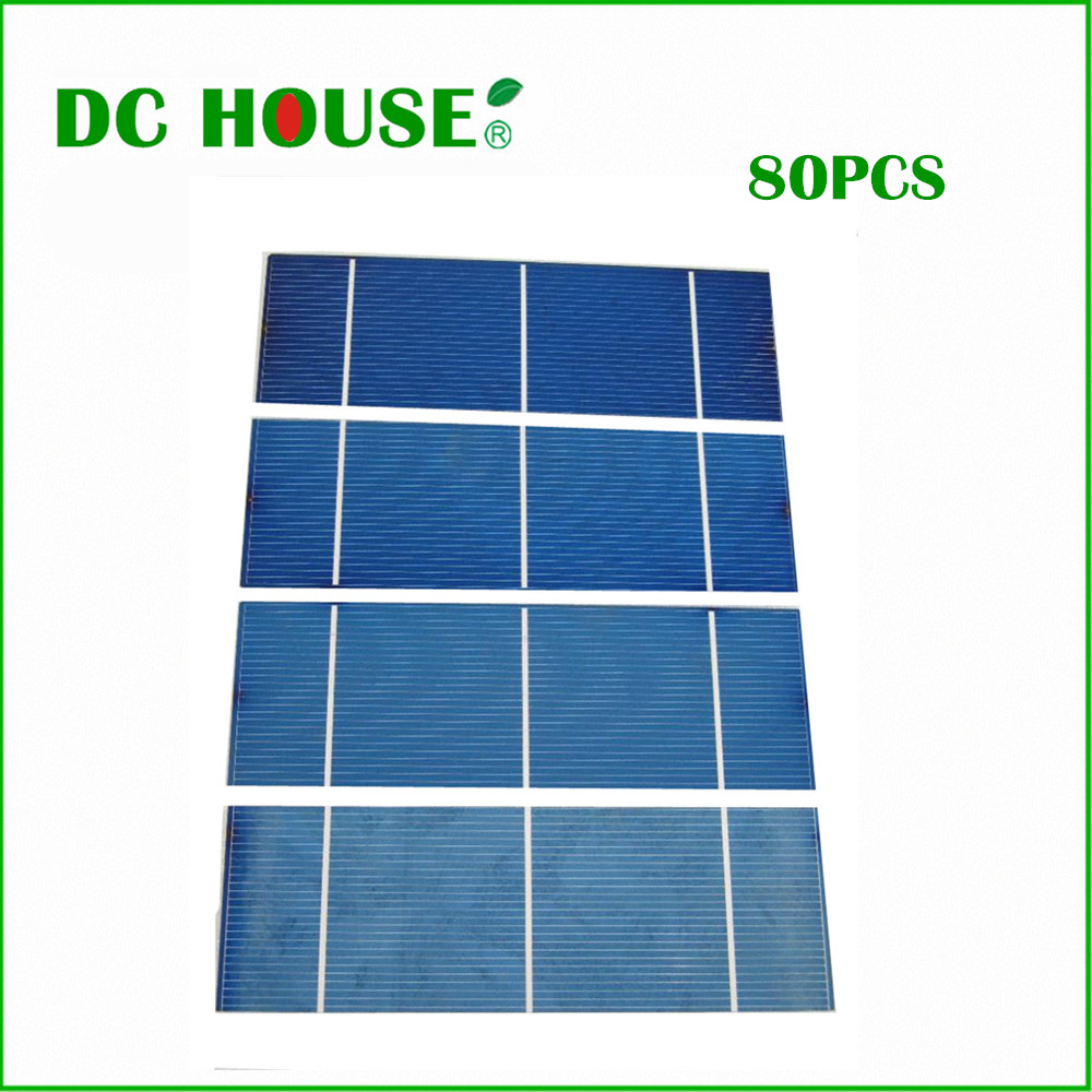 80 pcs 16% efficiency 2x6 polycystalline solar cell 1.3w/pc , DIY solar panel for home use ,free shipping *!!! 1m x 12m solar panel eva film sheet for diy solar cells encapsulant