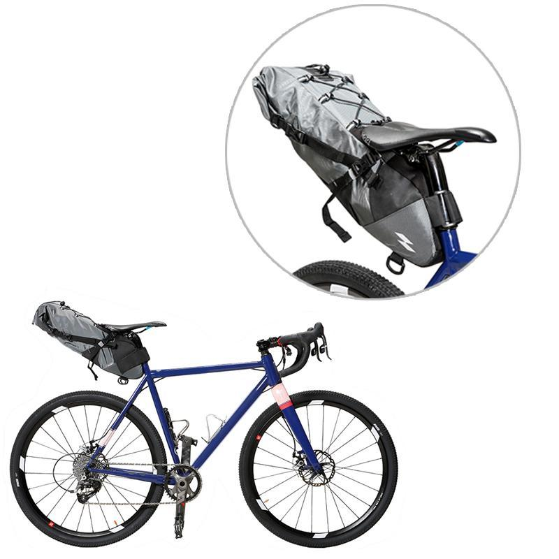 Waterproof Bike Bag Saddle Bag Cycling Mountain Bike Back Seat Rear Bag Bicycle Accessories Tail Seat Storage Bags Cycling Rear road bike led saddle bag mtb mountain bicycle seat post bag cycling bicicleta waterproof seat tail pouch rear safe package
