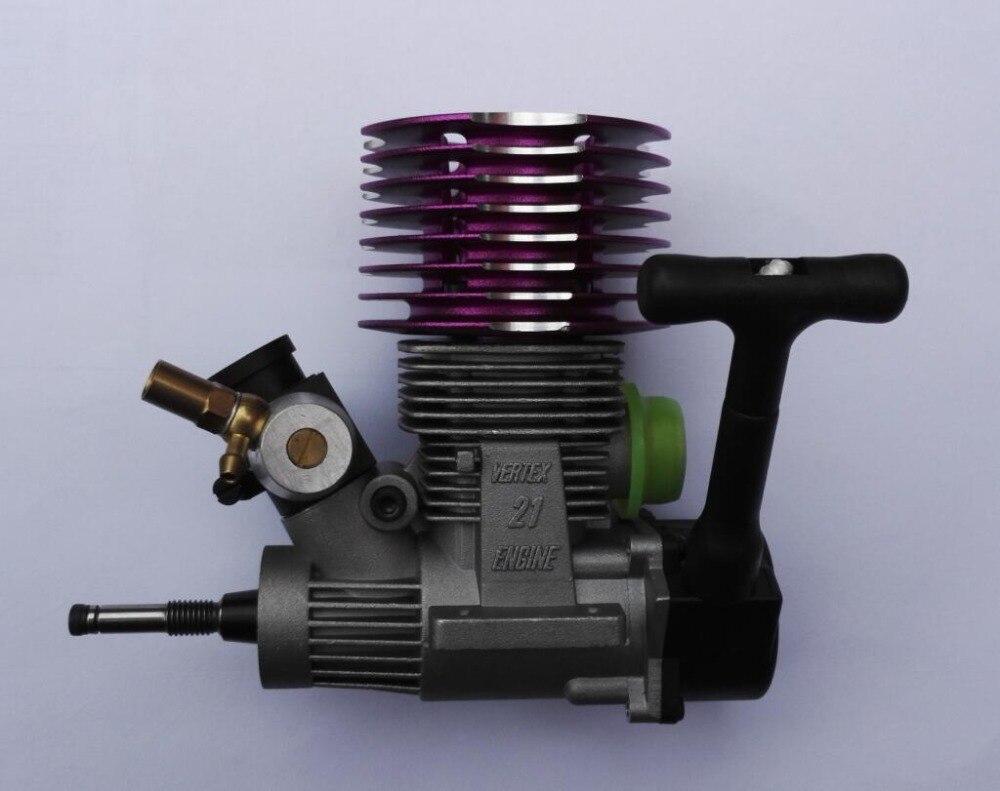 Vertex VX 21 CXP Nitro moteur CY violet tête de refroidissement Himoto Redcat HSP Nutech