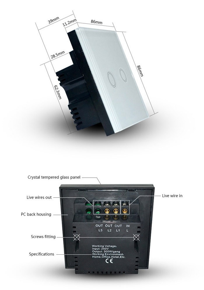 smart home wall switch-1