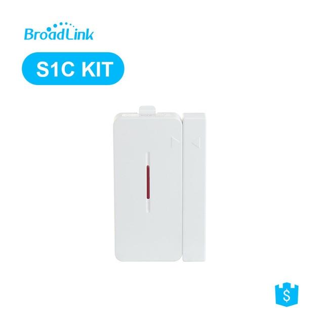 Controlador Broadlink S1C S1 S2-HUB 433 Mhz puerta ventana Sensor de contacto inalámbrico imán entrada Sensor Detector de alarma sistema de seguridad