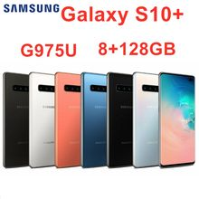 "Samsung Galaxy S10+ S10 Plus G975U 8GB RAM 128GB ROM Octa Core 6.4"" 5 Camera Snapdragon 855 NFC 4G LTE Android Cell Phone(China)"