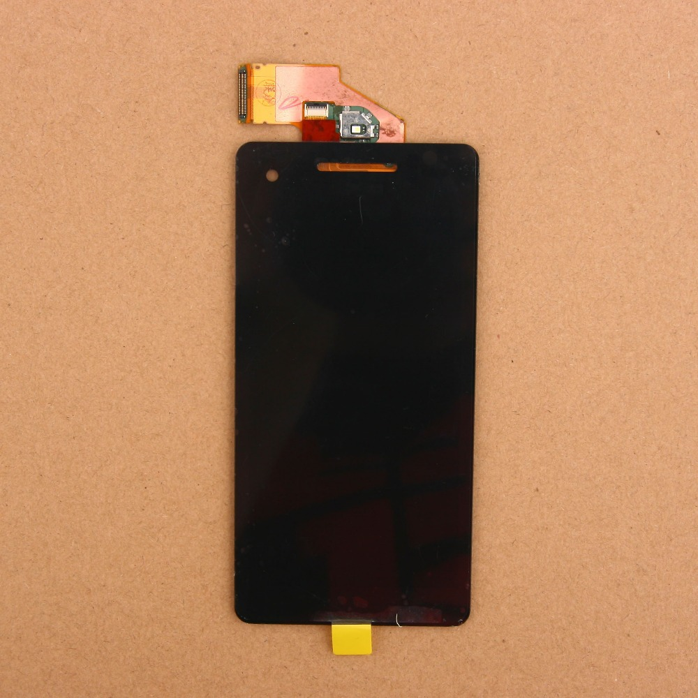 ФОТО Original LCD Display Touch Screen Panel Digitizer Assembly Black Free Shipping For Sony Xperia V LT25 LT25i