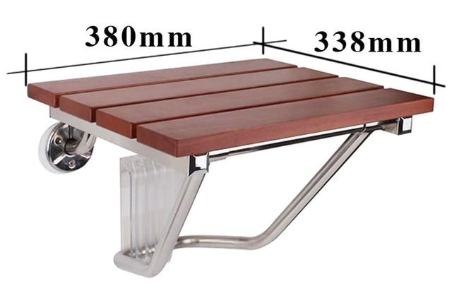 Sedile Per Doccia : 2016 nuovo magazzino parete sedia sedile a muro in legno massello