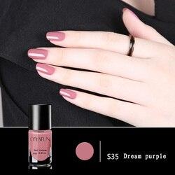 41 color s nuevo esmalte de uñas caramelo Color desnudo secado rápido translúcido gelatina esmalte de uñas protección ambiental 8ml