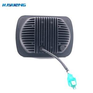 Image 3 - 5X7 inch 85W h4 LED HEADLIGHT BULB 7x6inch headlamp DRL for Jeep Wrangler YJ XJ truck FLD Firebird Celica 240SX 7inch led lamp