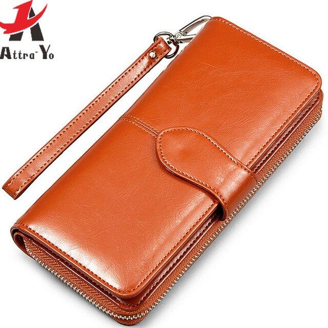 Atrra-Йо! кошельки женщины кошелек доллар цена кожаный кошелек высокого качества кошельки бренды кошелек женский мешок bolsas LS4917ay