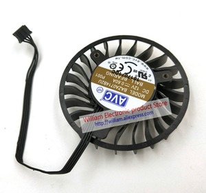 Image 2 - New Original AVC BAZA0714B2U DC12V 0.6A 64x16MM 4Lines Graphics card cooling fan