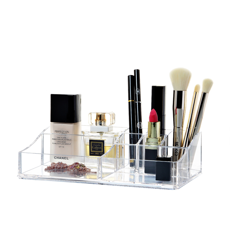 Prodotto crystal acrylic cosmetic box organizer makeup - Accessori bagno plexiglass amazon ...