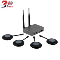 Wireless TV Stick Transmission Screen Monitor 1080P WiFi Display Conference Monitor Box Miracast DLNA All Share