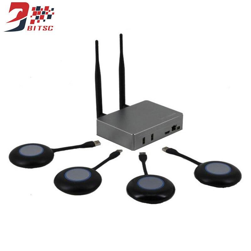 Wireless TV Stick Transmission Screen Monitor 1080P WiFi Display Conference Monitor Box Miracast DLNA All share Cast USB 4 Way телеприставка oem amlogic s802 cortex a9 1g 8g xbmc dlna miracast wi fi bluetooth 4 0 4 k 2 k m8 4 4 tv box