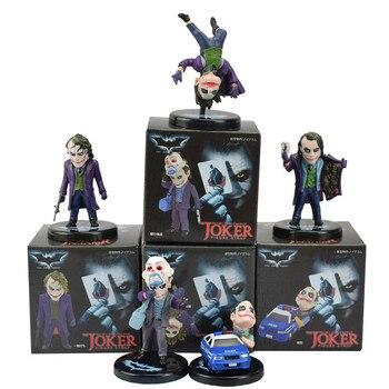5 шт./компл. DC Comics Бэтмен Темный рыцарь Джокер мини ПВХ Цифры Коллекция игрушек модель куклы