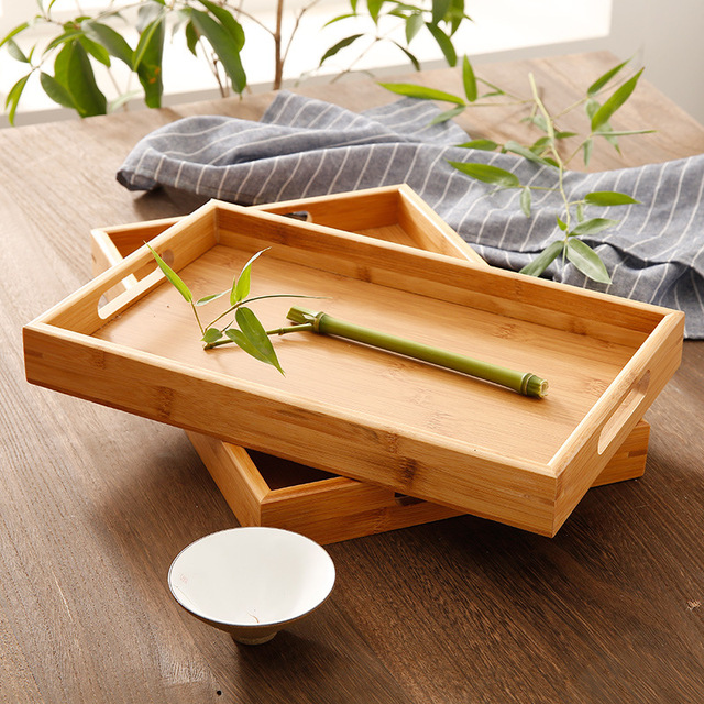 Japanese Bamboo Serving Tray