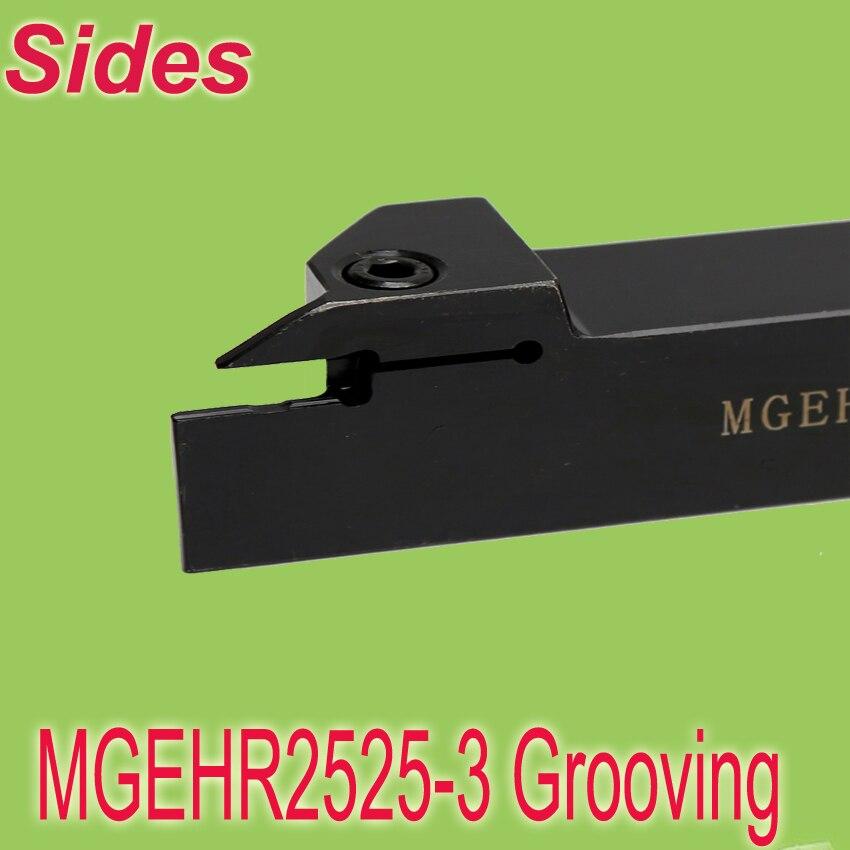 Free Shiping   MGEHR 2525-3 25*25*150 External Grooving Turning Lathe Bar Tool Holder Use MGMN300  цены