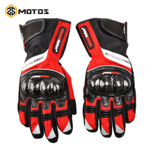 Zs заезды зима защиты углерода мотоцикл перчатки водонепроницаемый motocicleta мотоцикл мотокросс перчатки guantes luva moto racing