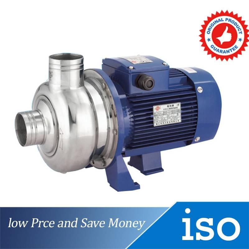 0.75KW High Pressure Booster Pump 380V Horizontal Centrifugal Water Pump