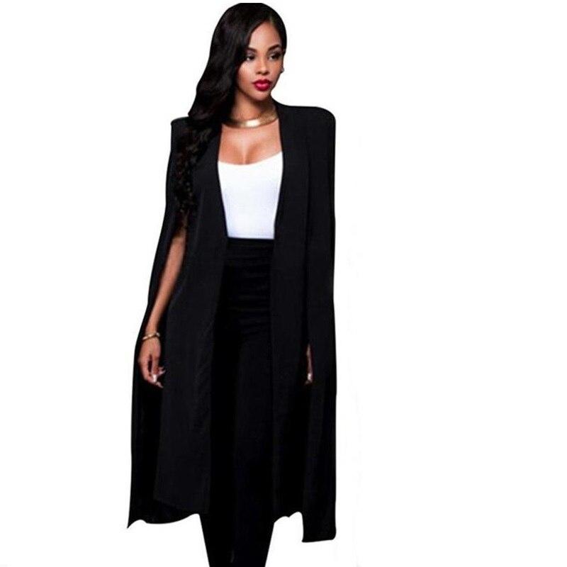 Marynarka Damska And Jacket Bleiser Femenino Campera Coat Mujer Women Autumn Tallas Grandes Loose Seksi Sexy Long Blazer