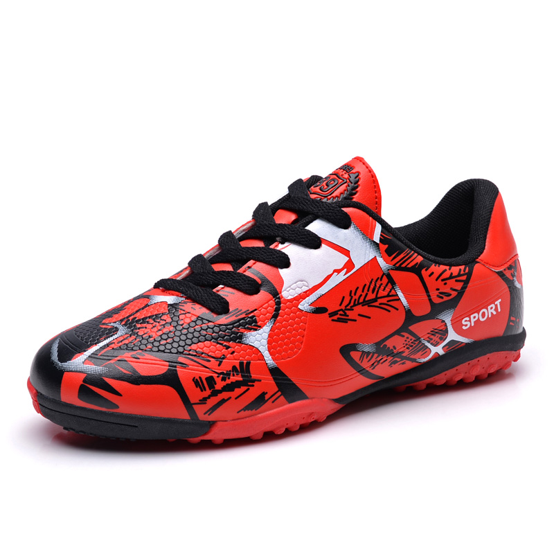 af4fa4d4c 2018 TF Football Shoes Mens Kids Training Soccer Boots Indoor Futsal Shoes  Non slip Soccer Cleats Zapatillas Futbol Sala Hombre-in Soccer Shoes from  Sports ...