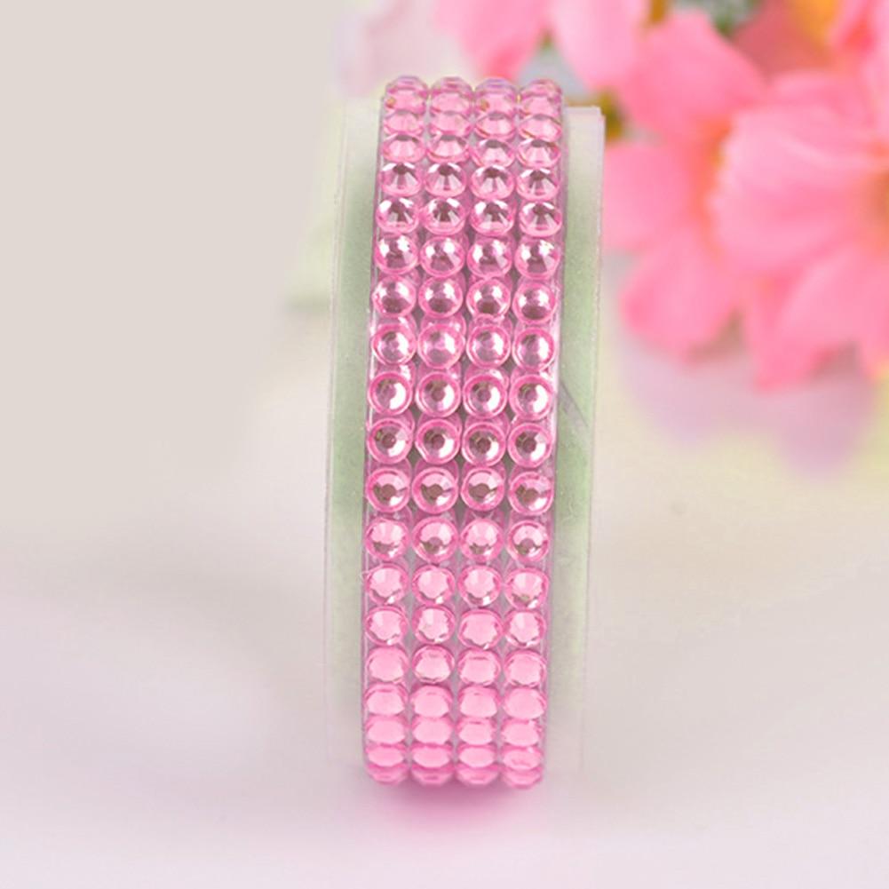 Self Adhesive Glitter Crystals Gems Jewels Stick On Diamante Rhinestones Strip