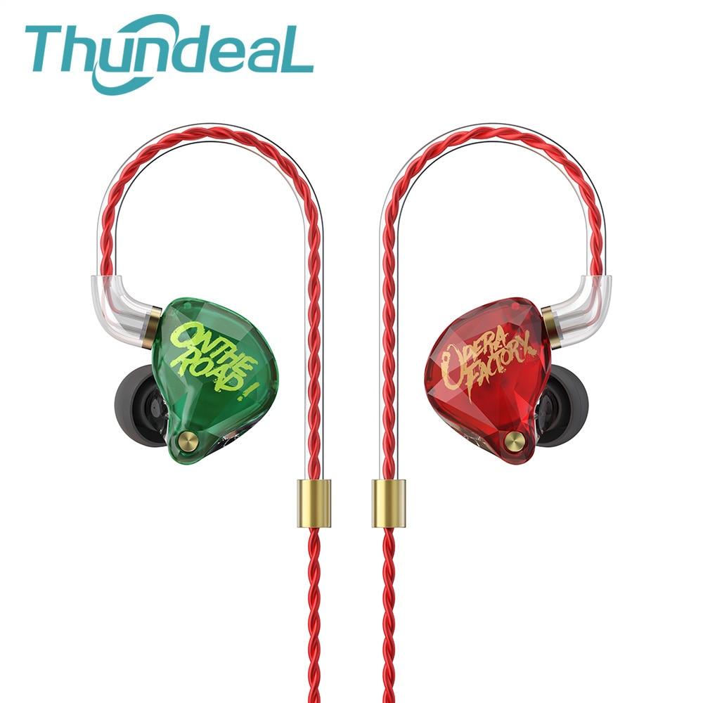 New Customized Audio Diamond OM1 3.5mm DJ Super bass Earphone Headset Earplug 2Pin HIFI OFC Cable Dynamic Drive In Ear Earphone