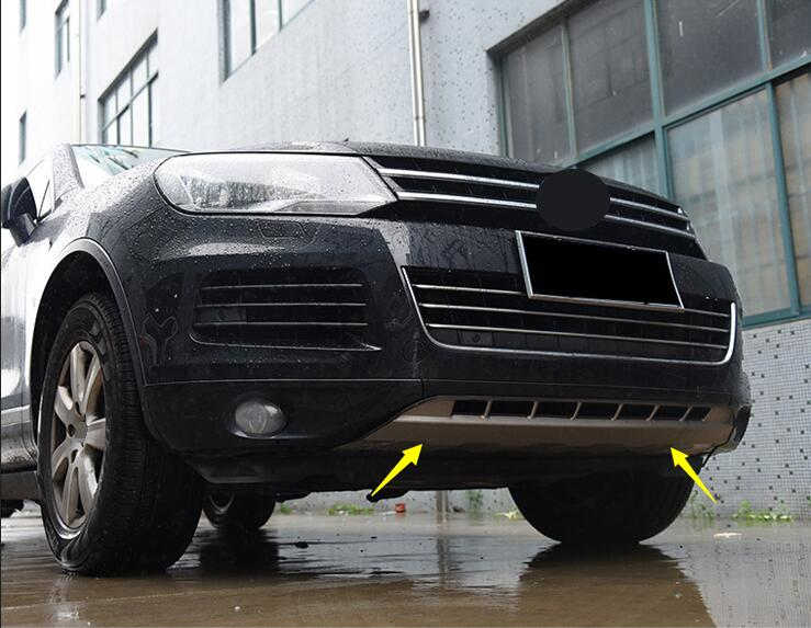 Quality case FOR Volkswagen Touareg 2011 2012 2013 2014 2015 stainless steel bumper board guard skid plate bar Suitable