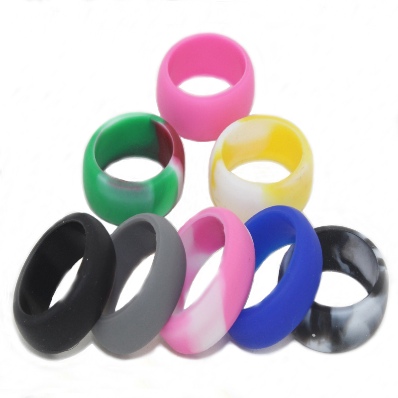 Plastic Wedding Bands >> Amazing New Sport Outdoor Silicone Wedding Band Ring For Men Women
