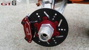Image 2 - 1/5 rc car gas GTB racing 4 wheel hydraulic disc brake for 1/5 Scale gas baja 5B 5T 5SC GR077 free shipping rc car