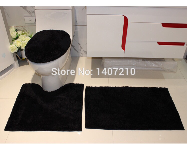 Online Get Cheap Black Bathroom Rugs Aliexpresscom Alibaba Group