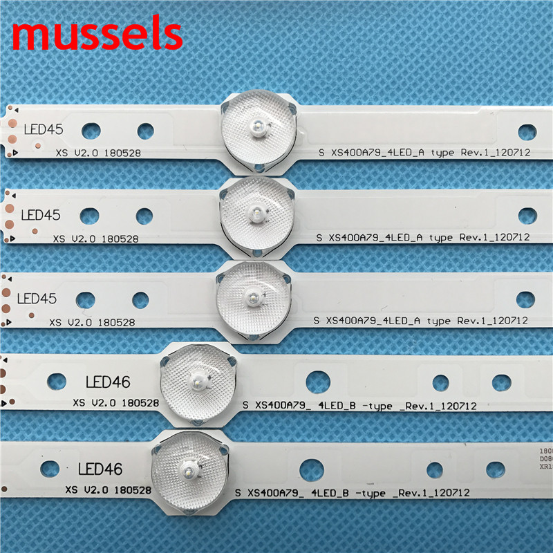 """Image 2 - LED backlight strip For Samsung 40"""" TV 4/5lamp SVS400A73 40D1333B 40L1333B 40PFL3208T LTA400HM23 SVS400A79 40PFL3108T/60 New-in Industrial Computer & Accessories from Computer & Office"""