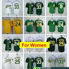 72a61e8a4 women Oakland Rickey Henderson Reggie Jackson Mark Mcgwire Jose Canseco  FLEX   Cool Base Player Jersey