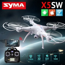 SYMA Brand Remote Control Quadcopter Childrens Christmas Gift RC Drone with HD Camera 2.4G 6-Axis Real Time for Outdoor Hobby