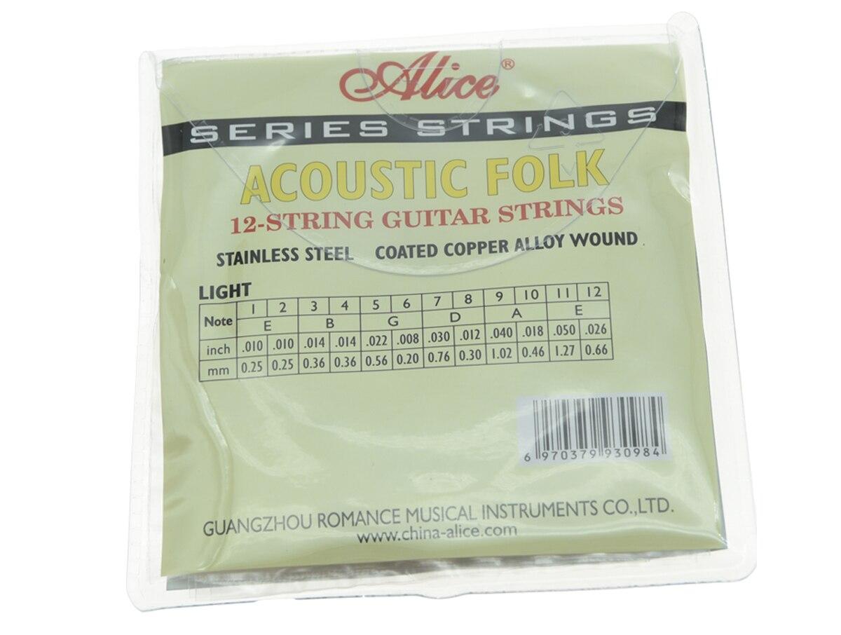 5 juegos de cuerdas de guitarra acústica folk de 12 cuerdas 1ra - Instrumentos musicales - foto 2