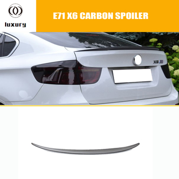 M Performance Style E71 X6 Carbon Fiber Rear Wing Spoiler for BMW E71 X6 2008 2009 2010 2011 2012 2013 image