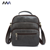 MVA Genuine Leather Bag Men Bags Small Casual Flap Shoulder Crossbody Bags Messenger Men S Leather