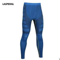 LASPERAL Mens Running Tights Quick Dry Breathable Compression Tights Joggers Sports Legging Gym Fitness Male Athletic