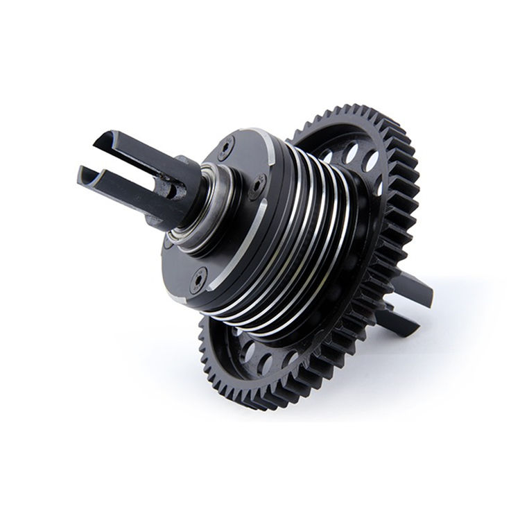 CNC Middle Diff Gear Differential Housing Assembly Kits for 1/5 Scale Rovan LT Losi 5ive-T DDT 5T RC Car Parts wltoys 12428 12423 1 12 rc car spare parts 12428 0091 12428 0133 front rear diff gear differential gear complete