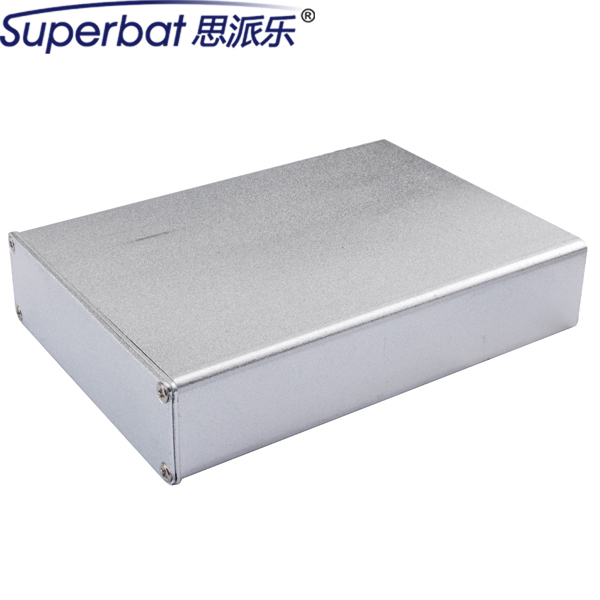 110*79*24mm Amplifier PCB Instrument Electronic Projects Enclosure Extruded Silver Aluminum Junction Box Case 4.33″*3.11″*0.94″