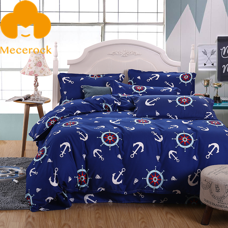 Mecerock New Design Soft Duvet Cover Set Comfortable Bed