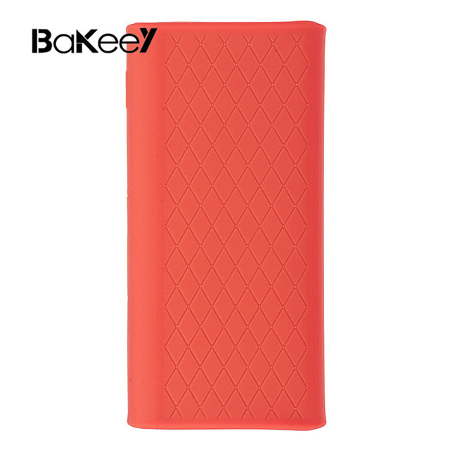 Silicone Protector Case Cover Skin Shell for Xiaomi Xiao Mi 20000mAh Power Bank 3 PLM07ZM Powerbank 3 Pro Accessories 1