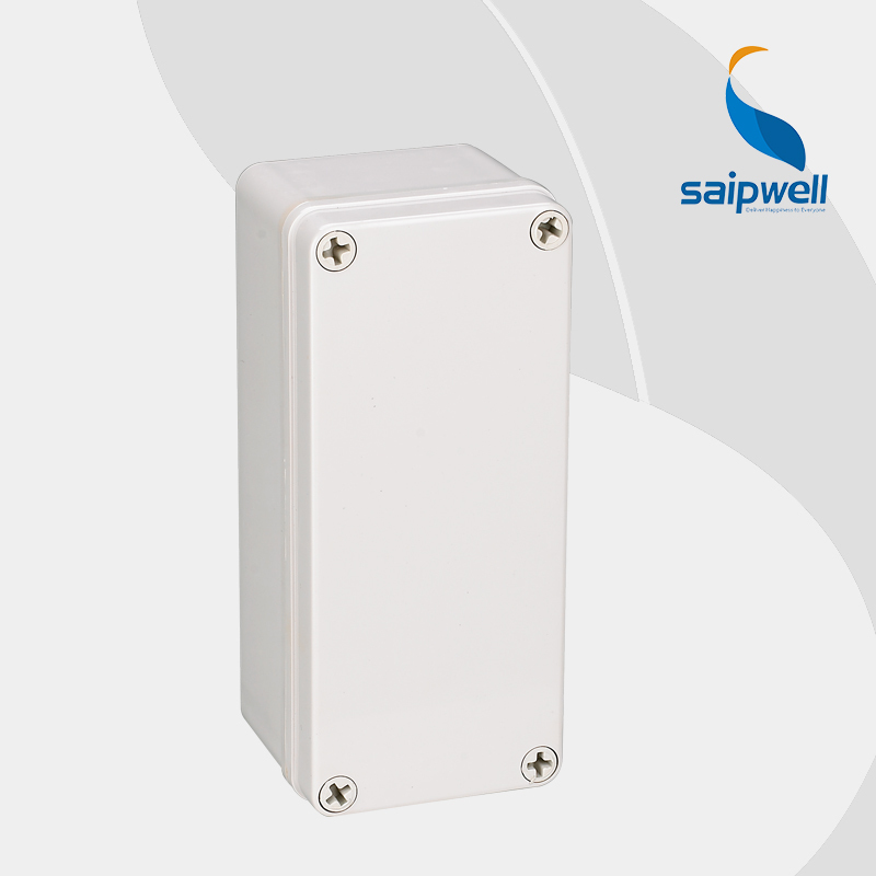 US $17 24 |High quality ABS IP66 solid cover waterproof electrical switch  box DS AG 0818 80*180*70 mm from saipwell-in Wire Junction Boxes from Home